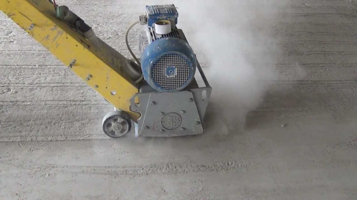 фрезерование бетона цена